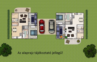 Eladó Ikerház
