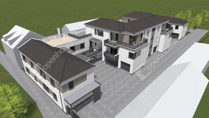 0. kép   Eladó új építésű társasházi lakások, Székesfehérvár, Malom utca   Eladó Társasházi lakás, Székesfehérvár (#150002)