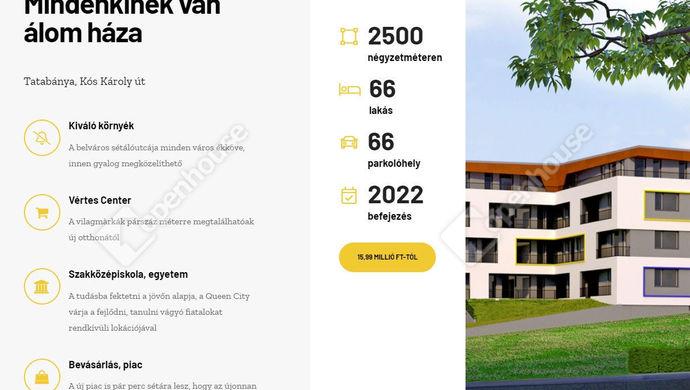 0. kép | Eladó Társasházi lakás, Tatabánya (#149798)