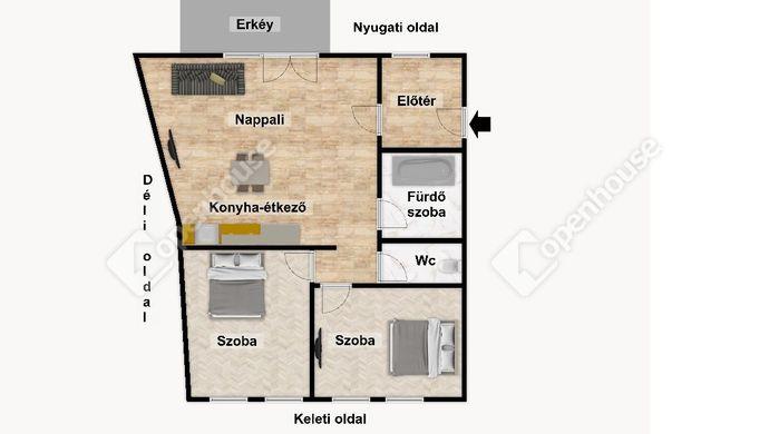 3. kép   Eladó Társasházi lakás, Eger (#152541)