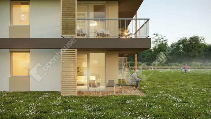 1. kép | Eladó Kertkapcsolatos társasházi lakás, Komárom (#136687)