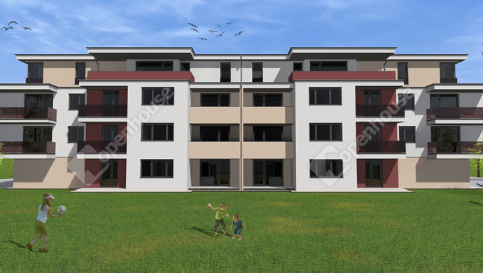4. kép   Eladó új építésű társasházi lakás Székesfehérváron   Eladó Társasházi lakás, Székesfehérvár (#133658)