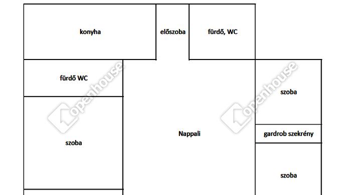15. kép | alaprajz | Eladó Társasházi lakás, Szombathely (#142094)