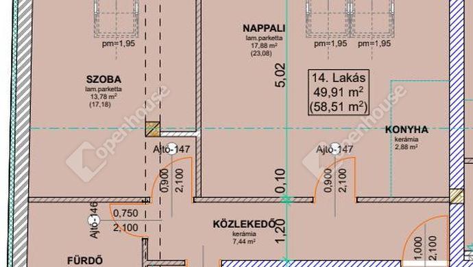 2. kép | Eladó Társasházi lakás, Szeged (#136282)