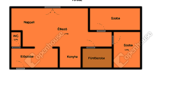 21. kép | Alaprajz | Eladó Társasházi lakás, Mosonmagyaróvár (#142328)