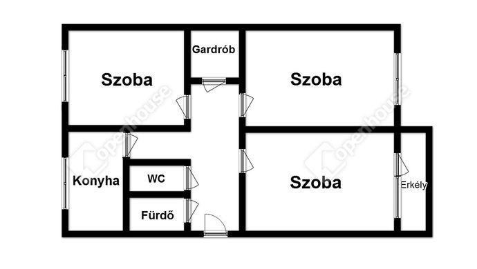 2. kép   Eladó Társasházi lakás, Miskolc (#141743)