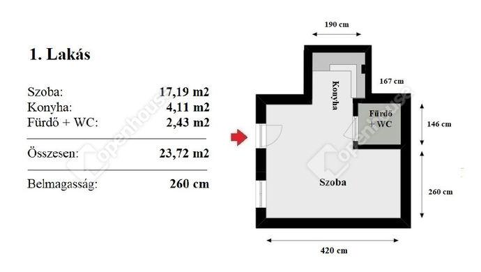 11. kép | Eladó Társasházi lakás, Budapest VII. Ker. (#136217)