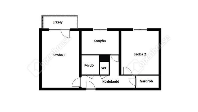 2. kép | Eladó Társasházi lakás, Miskolc (#143619)