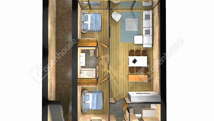 2. kép | Eladó Társasházi lakás, Alsóörs (#126493)