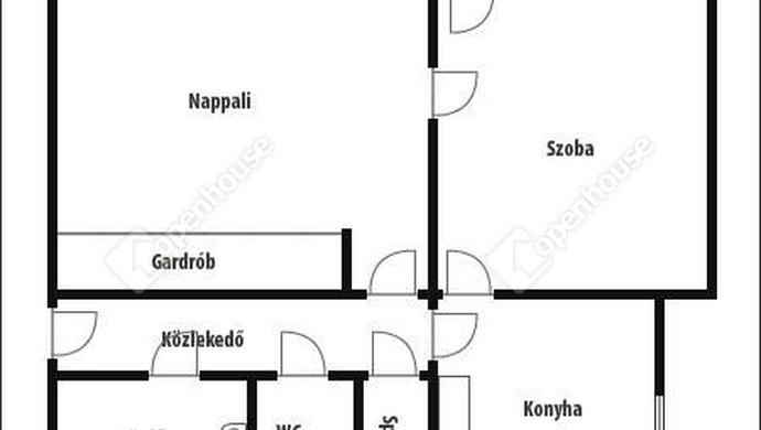 4. kép | Alaprajz | Eladó Társasházi lakás, Zalaegerszeg (#139544)
