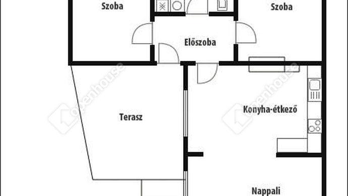 5. kép | Alaprajz | Eladó Családi ház, Németfalu (#140990)
