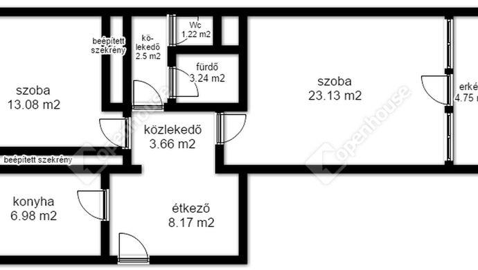 13. kép   Eladó Társasházi lakás, Szombathely (#152443)