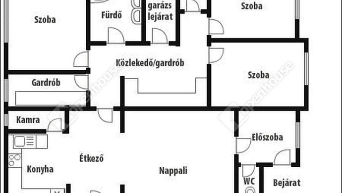 16. kép | alaprajz | Eladó Családi ház, Zalaegerszeg (#140653)