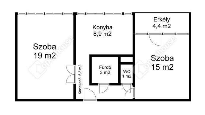 2. kép   Eladó Társasházi lakás, Sárospatak (#148117)