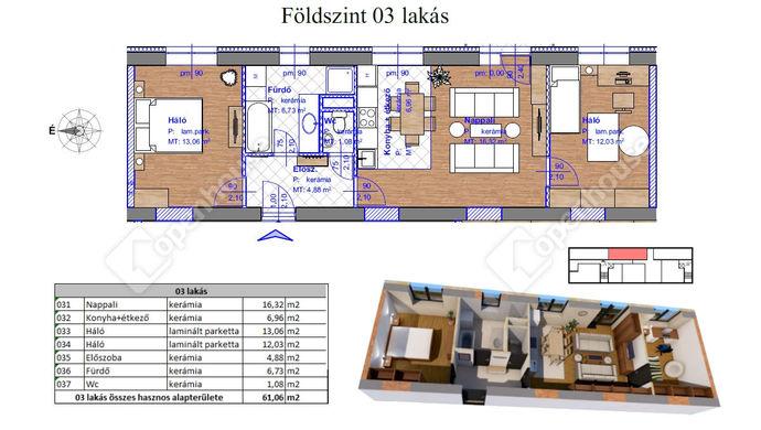 2. kép   Eladó Társasházi lakás, Miskolc (#143568)