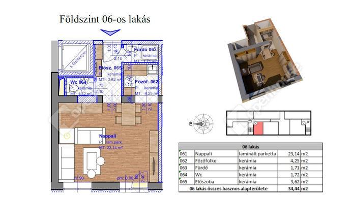 2. kép | Eladó Társasházi lakás, Miskolc (#143562)
