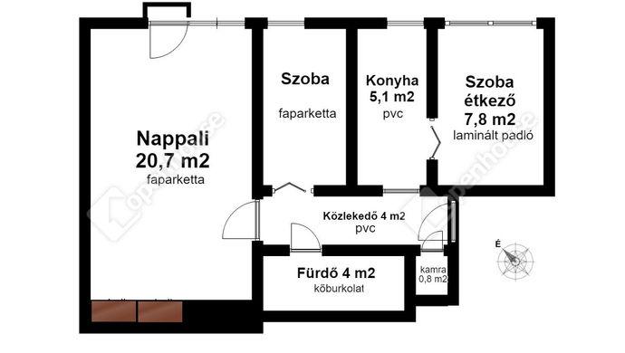 2. kép | Eladó Társasházi lakás, Miskolc (#143610)