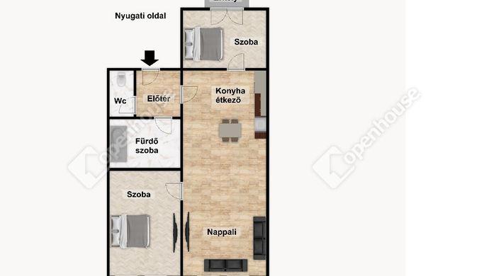 3. kép | Eladó Társasházi lakás, Eger (#152512)
