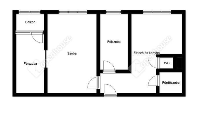 2. kép | Eladó Társasházi lakás, Miskolc (#146359)