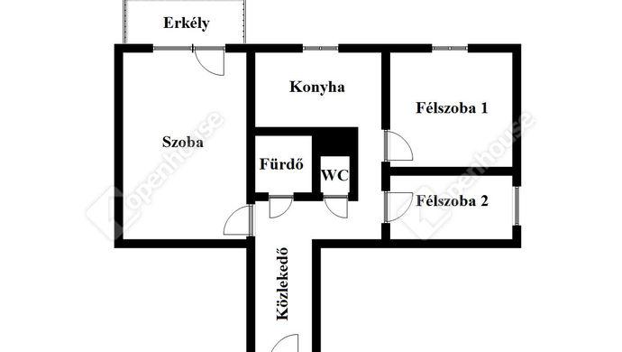 2. kép | Eladó Társasházi lakás, Miskolc (#137372)