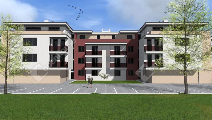 3. kép   Eladó új építésű lakás Székesfehérváron.   Eladó Társasházi lakás, Székesfehérvár (#133641)