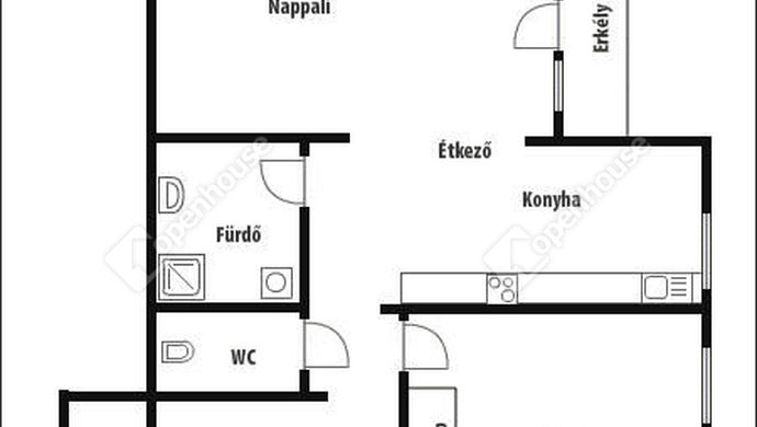5. kép | Alaprajz | Eladó Társasházi lakás, Zalaegerszeg (#140483)