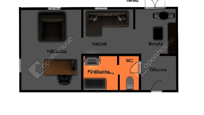 10. kép | Alaprajz | Eladó Társasházi lakás, Mosonmagyaróvár (#142111)