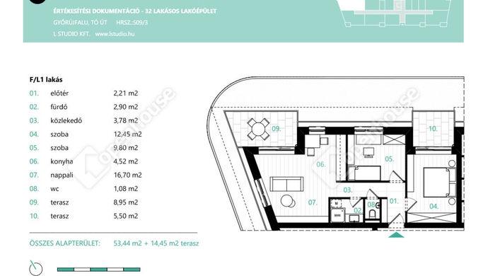 3. kép | Eladó Társasházi lakás, Győrújfalu (#137133)