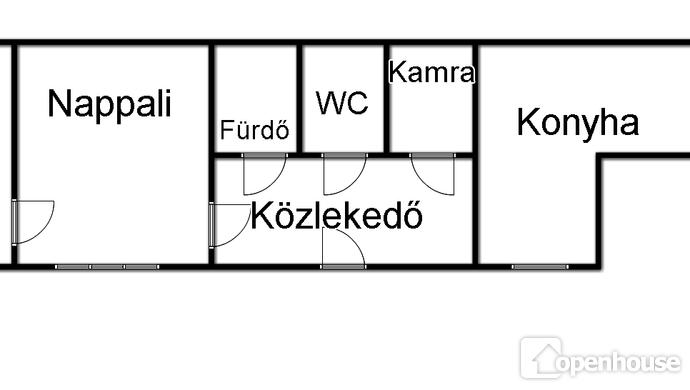 0. kép | Alaprajz | Eladó Társasházi lakás, Budapest VII. Ker. (#113828)