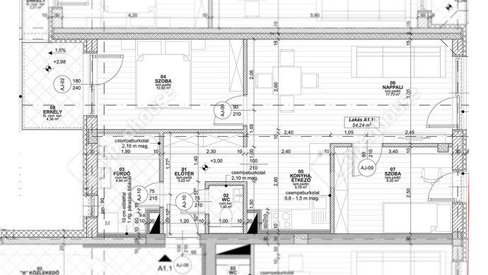 4. kép | Eladó új építésű lakás Siófokon | Eladó Társasházi lakás, Siófok (#152841)