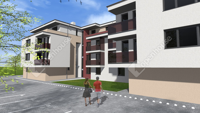 2. kép   Eladó új építésű társasházi lakás Székesfehérváron   Eladó Társasházi lakás, Székesfehérvár (#133647)