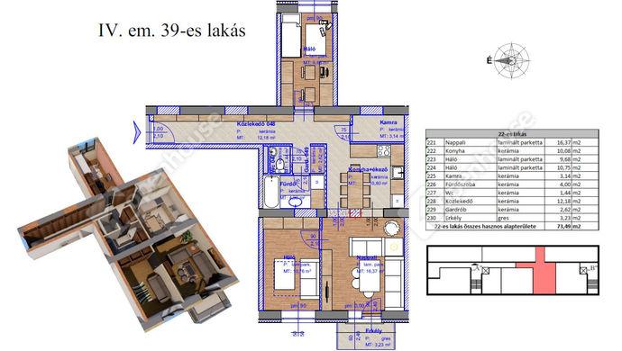 2. kép | Eladó Társasházi lakás, Miskolc (#143565)