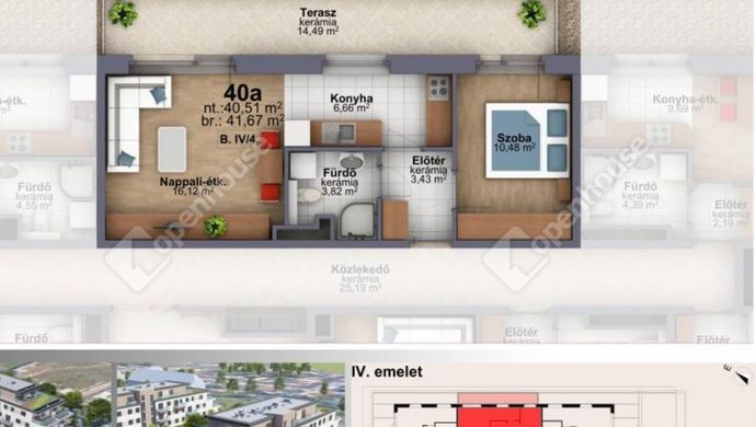 4. kép | Eladó Társasházi lakás, Szombathely (#153266)