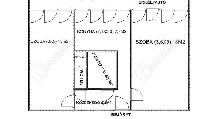 5. kép | Kiadó Társasházi lakás, Zalaegerszeg (#152590)