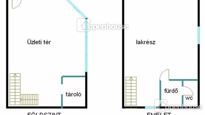 6. kép | Alaprajz | Eladó Társasházi lakás, Siófok (#113810)