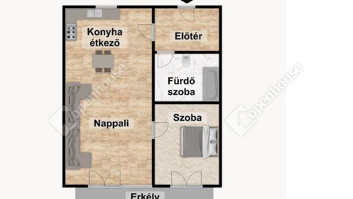 3. kép | Eladó Társasházi lakás, Eger (#152510)