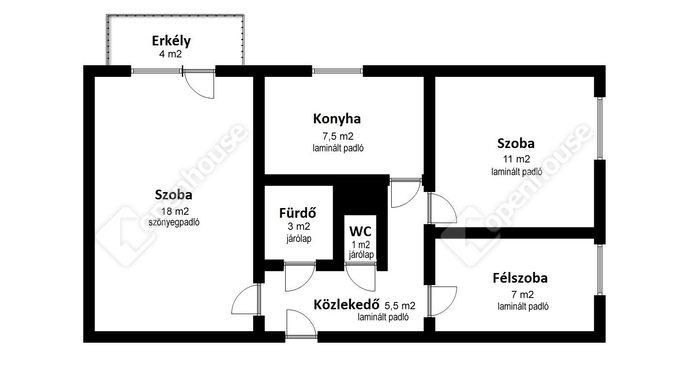 2. kép | Eladó Társasházi lakás, Miskolc (#148353)
