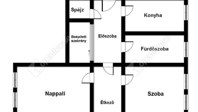 2. kép   Eladó Társasházi lakás, Miskolc (#137893)