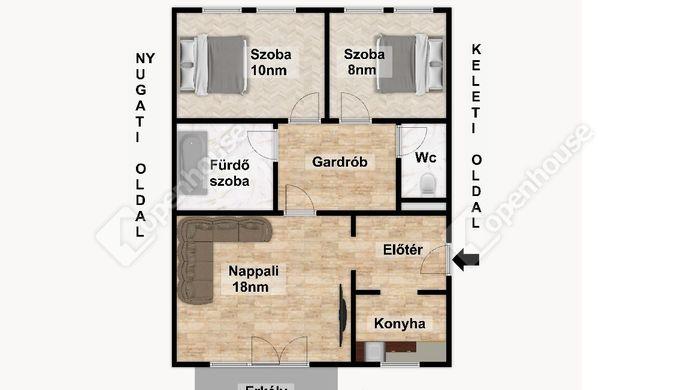 3. kép   Eladó Társasházi lakás, Eger (#152127)