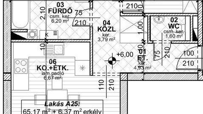 6. kép | Eladó újépítésű lakás Székesfehérvár | Eladó Társasházi lakás, Székesfehérvár (#135940)