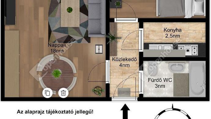 7. kép | Eladó Társasházi lakás, Szeged (#143082)