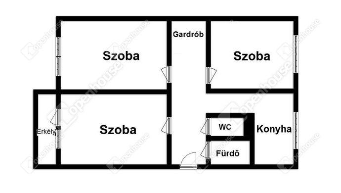 2. kép   Eladó Társasházi lakás, Miskolc (#142270)