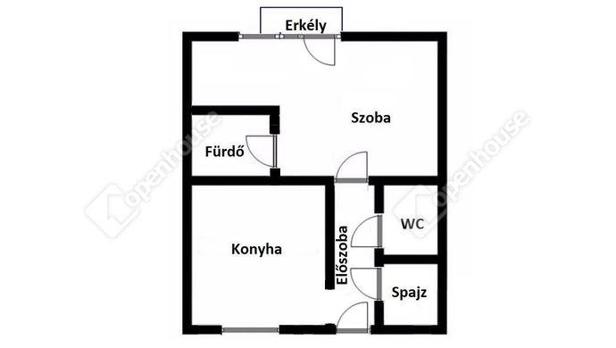 2. kép | Eladó Társasházi lakás, Miskolc (#152935)