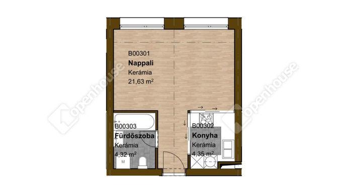 3. kép | Eladó Társasházi lakás, Miskolc (#148940)