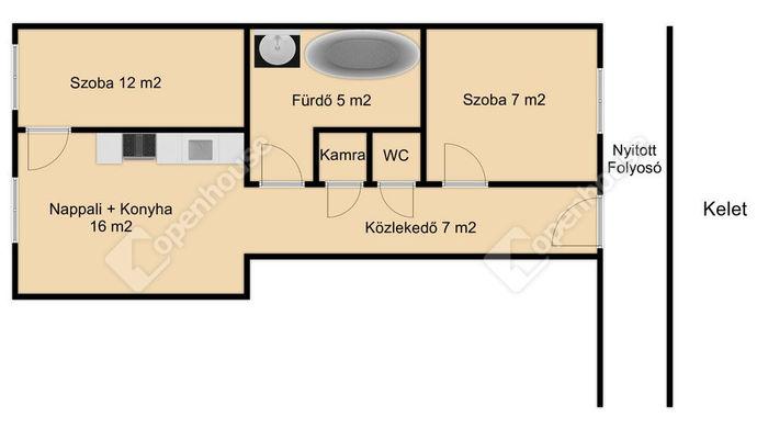 5. kép | Kiadó Társasházi lakás, Nagykanizsa (#153362)