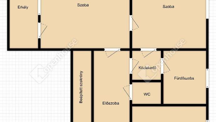 9. kép | Eladó Társasházi lakás, Debrecen (#146869)