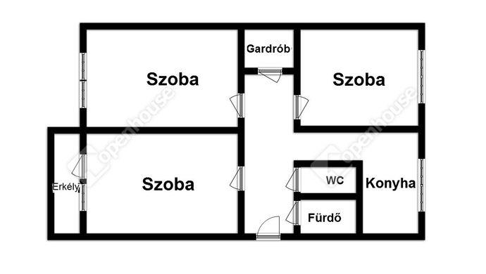 9. kép | Eladó Társasházi lakás, Miskolc (#135902)