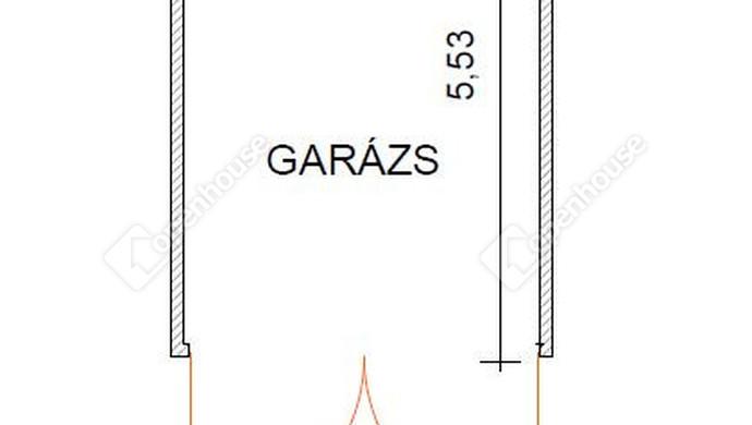 26. kép | Garázsalaprajz | Eladó Társasházi lakás, Zalaegerszeg (#129902)