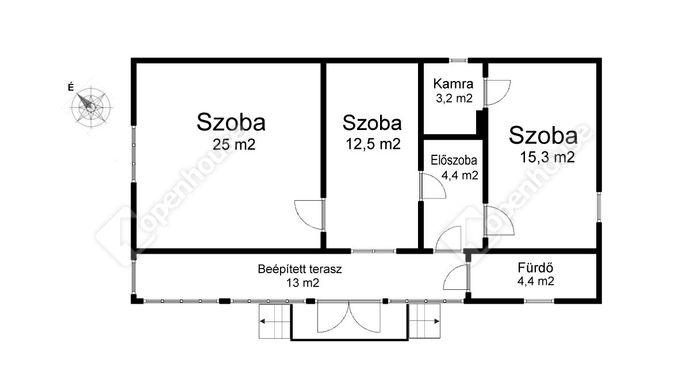 2. kép   Eladó Családi ház, Sárospatak (#147283)