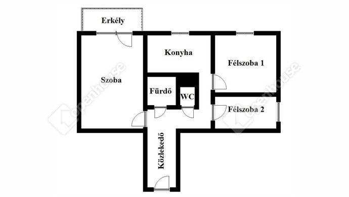 2. kép | Eladó Társasházi lakás, Miskolc (#137396)